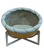 "Pet Bed Eco Chair-bed for pets  ""Nikolas"" Yellow Bed for dog bed for cat - $350.00"