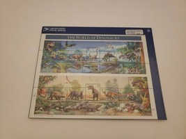 USPS United States Stamps The World Of Dinosaurs Sheet Of 15 Stamps 1996... - $6.85