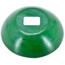 Tabaka Chigware Handmade Kisii Soapstone Green Spring Flower Trinket Bowl Kenya image 3