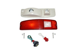64-72 FORD Truck F100 F-100 Tail Light Lens Set With Housing F150 F-150 F-Series image 9