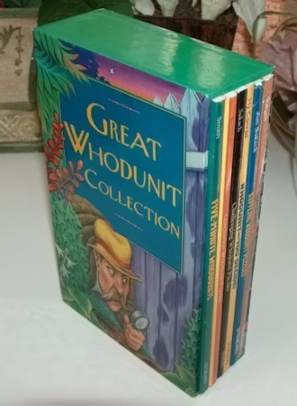 Great Whodunit Collection Boxed Set of Six Mini Mystery Book
