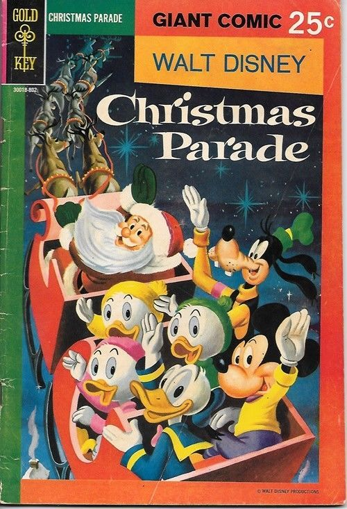 Primary image for Walt Disneys Christmas Parade Comic Book #6 Barks Gold Key 1968 FINE