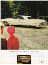 Vintage 1964 Magazine Ad for Cadillac Discover a Whole New Dimension of Comfort - $5.93