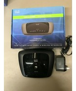 Wireless Router Only Linksys E1000 N Router & 12VAC Power Cord  Used - $8.86