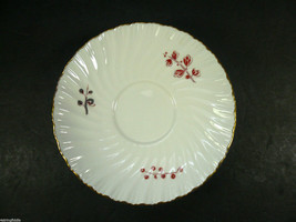 "Set of 4 Royal Worcester LYNBROOK 5 1/2"" Saucers 1964 Fine Bone China En... - $20.00"