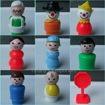 Vintage Fisher Price Little People Dad Mom Sesame Street Figures You Cho... - $6.61+