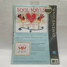 """Crewel Embroidery, DIMENSIONS  Soul Mates, 12"""" x 9"""" Needlecraft 71-73820 - $11.85"""