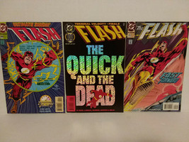 THE FLASH - THREE ISSUES - #99, #100 AND #101 - FREE SHIPPING - $18.70