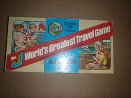 VINTAGE THE WORLDS GREATEST TRAVEL GAME COMPLETE J & J COMPANY 1980 - $28.04