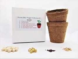"Joyous Jiffy ""Veggie"" Collection #2-(2)Round 3x3 Jiffy pots,(2)Soil Peat Pellets - $19.49"