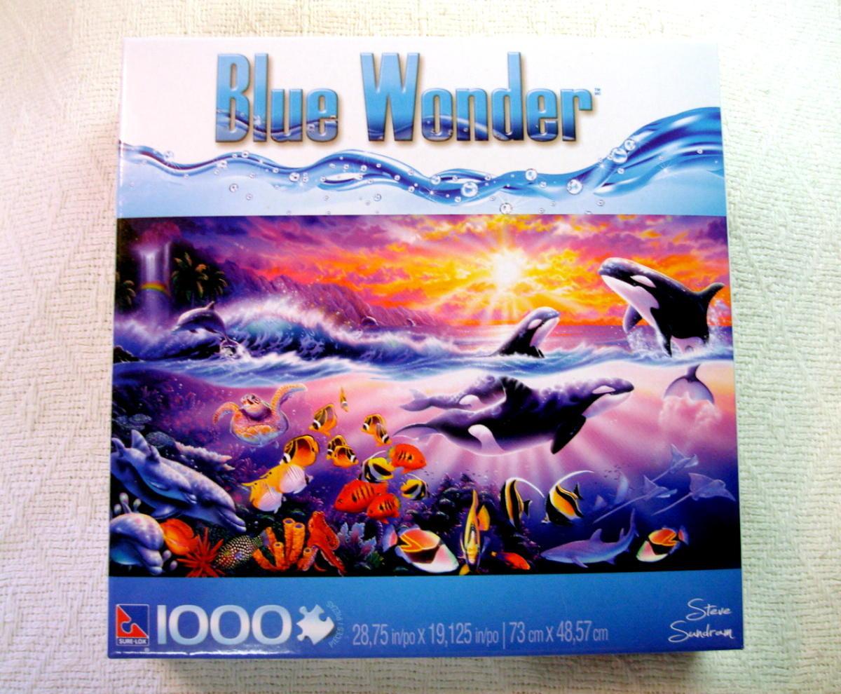 tropical treasures orca 1000 piece jigsaw and 50 similar items