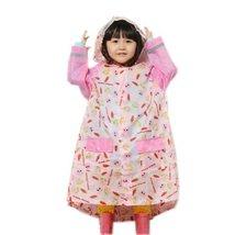 Toddler Rain Day Outerwear Baby Rain Jacket Infant Raincoat PINK Rabbit M