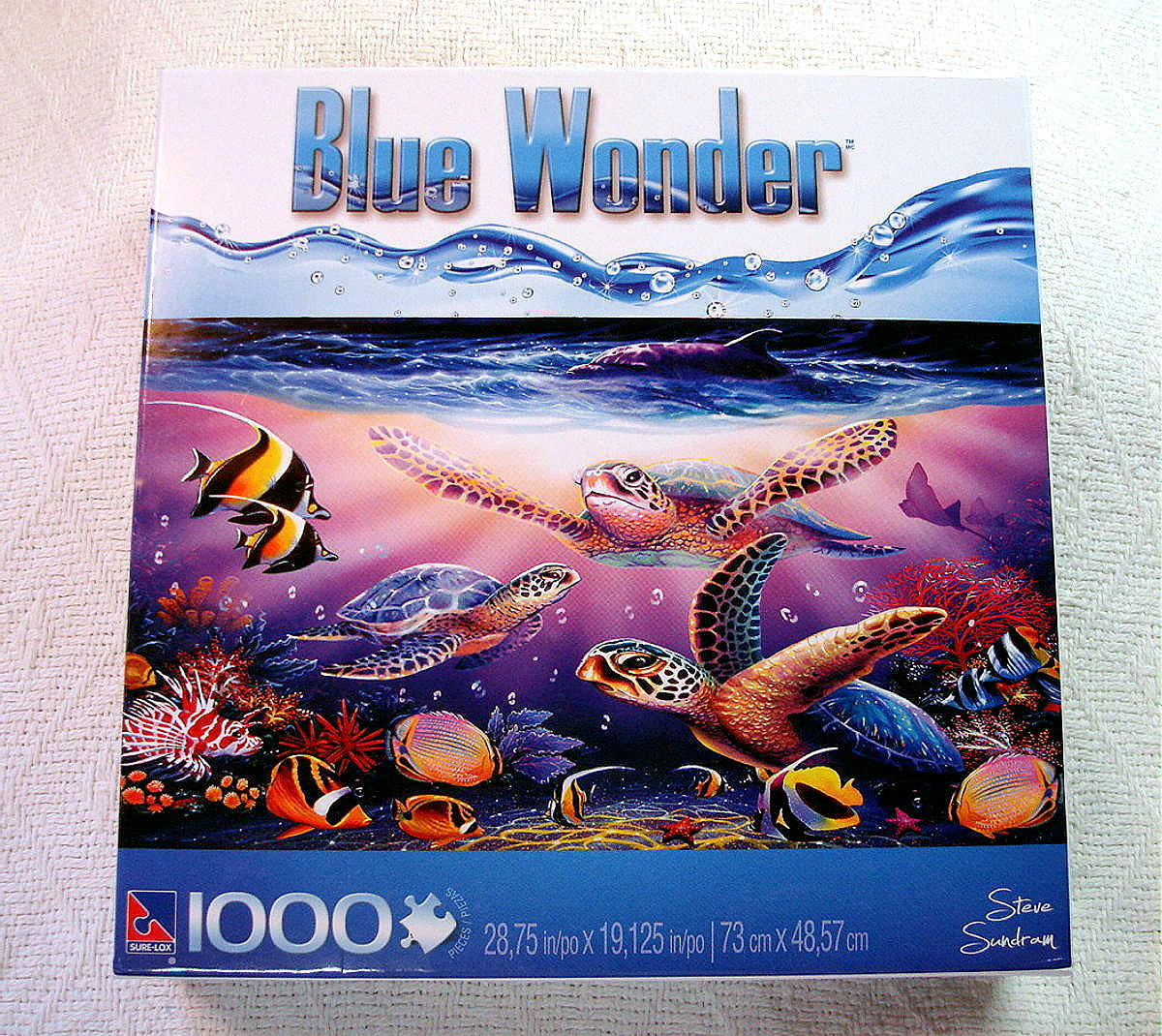 turtle family 1000 piece jigsaw puzzle steve and 50 similar items