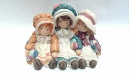 Enesco Down Petticoat Lane Friends Figurine Baby Girl Hair Home Collecti... - $19.95