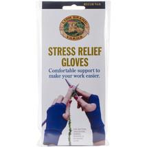 Lion Brand Stress Relief Gloves 1 Pair-Medium - $19.58