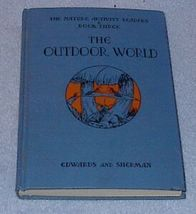 The Outdoor World Children's 1937 Old Vintage School Book 3 - $11.95