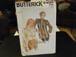 Butterick 4054 Misses Blouse Pattern - Size 14 Bust 36 - $10.48