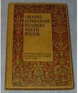 Children's Antique School Reader, Graded Literature Readers - $12.00