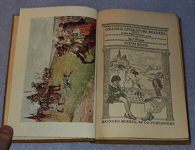Children's Antique School Reader, Graded Literature Readers