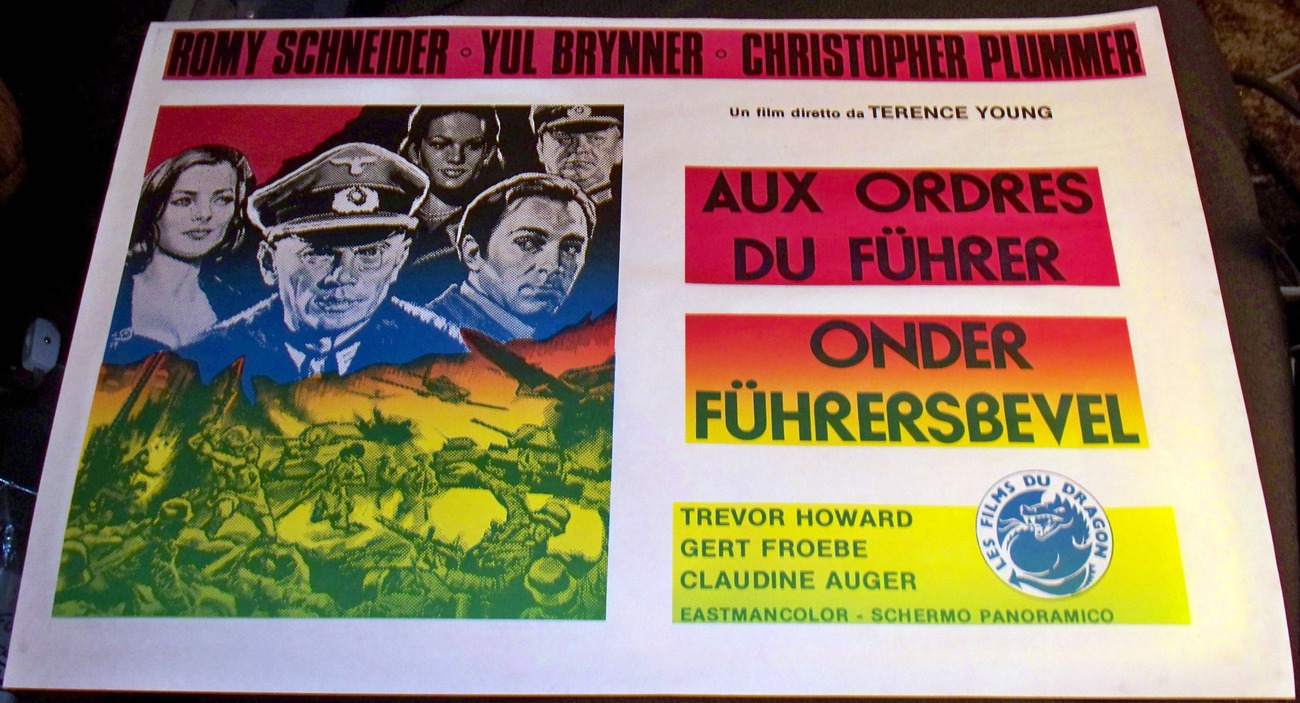 Orders of the Fuhrer European Movie Poster