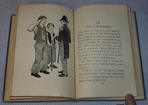 Children's Vintage School Reader, The American Twins of 1812