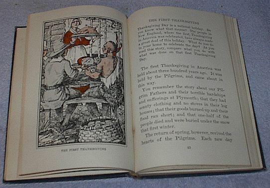 Children's Old Vintage School Reader, Lincoln Third Reader