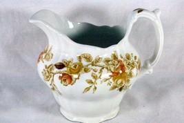 Ridgway Potteries Antique Rose 10 oz Creamer 4123 - $6.29