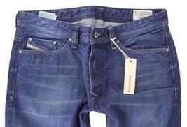 NEW DIESEL MEN'S PREMIUM DESIGNER DENIM REGULAR STRAIGHT LEG JEANS VIKER 0802D image 2