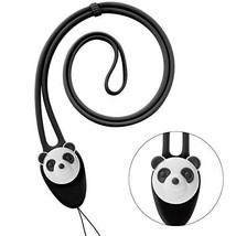 Cute Cartoon Neck Lanyard Strap, Silicone Soft Elastic Long Lanyard for ... - $15.24