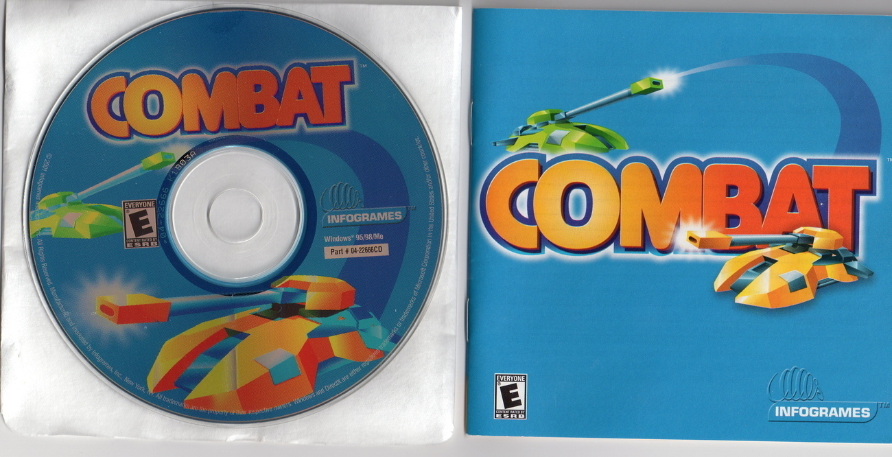 NEW Atari COMBAT TANK CLASSIC Reborn PC CD and Guide