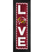 """""""LOVE Maryland"""" Crab and Flag 8 x 24 Framed Print - $39.95"""