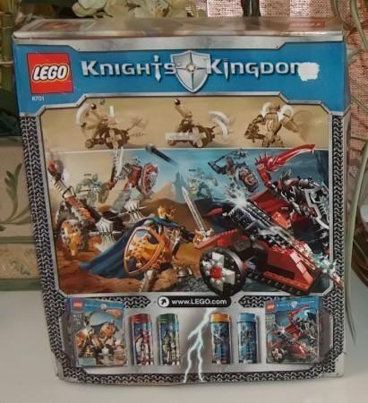 Lego Knights Kingdom King Jayko Set 8701