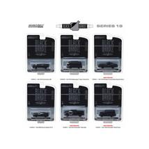 Black Bandit Series 18, 6pc Set 1/64 Diecast Models by Greenlight 27930SET - $47.63