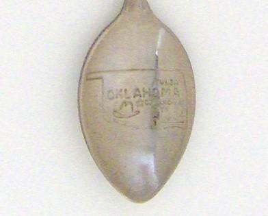 Souvenir Spoon - United States - Oklahoma