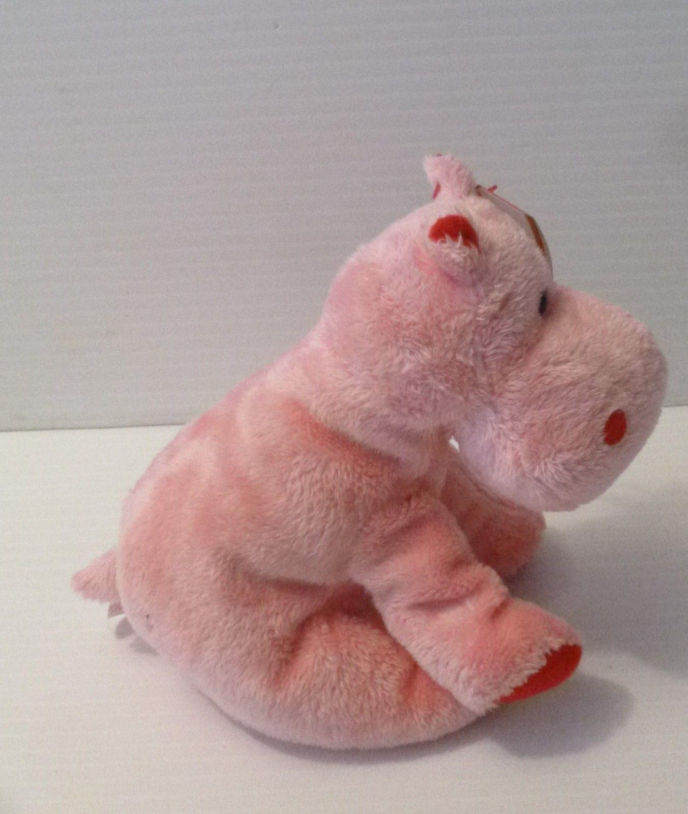 5a202e70b0f ... Ty original beanie babies pink hippo