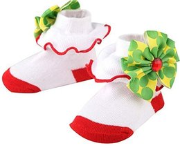 0-1 Years Old Newborn Baby Princess Socks Stereo Socks Children's Floor Socks image 1