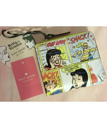KATE SPADE NWT ARCHIE COMIC SMALL NO WINDOW L ZIP WALLET COMICS BETTY VE... - $85.00