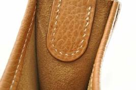 HERMES Evelyn GM Shoulder Bag Leather Brown Auth 9208 image 11