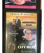 RARE Clint Eastwood Triple Feature Dvd, Honkytonk Man -Pink Cadillac- Ci... - $19.75