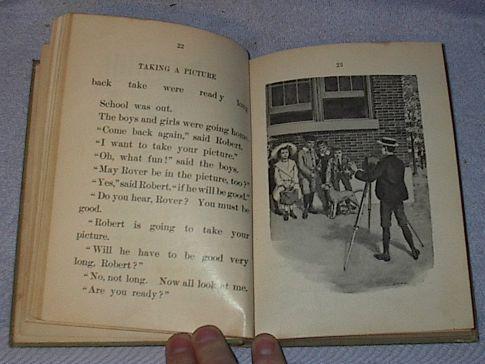 Blodgett First Reader Vintage School 1904