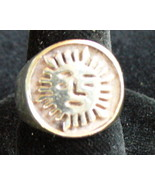 Sun Sterling Silver Ring - $15.00