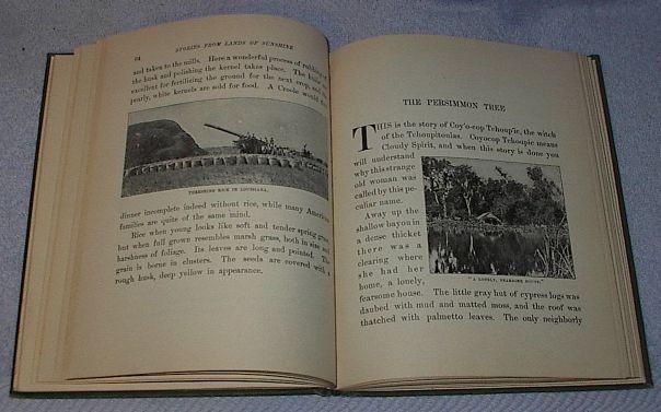 Childrens Antique School Reader Book, Stories from Lands of Sunshine