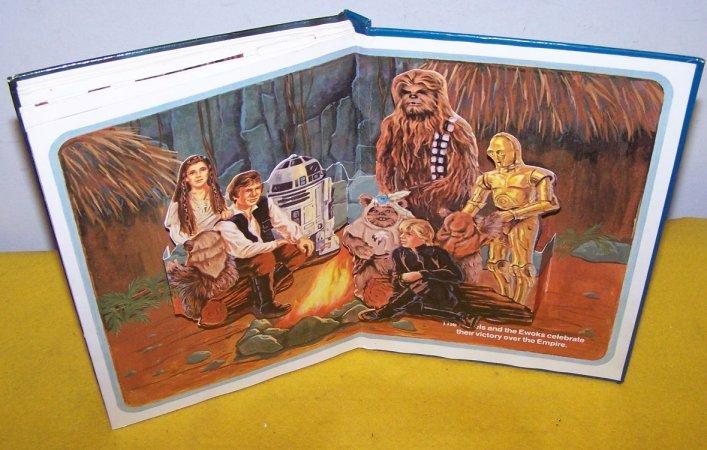 Star Wars 3D Pop Up Book Return Of The Jedi
