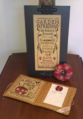 Fresh From The Garden cross stitch kit Little House Needleworks