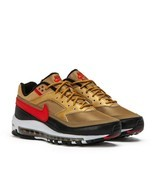 Nike Air Max 97 BW Metallic Gold Red Trainers - $194.25