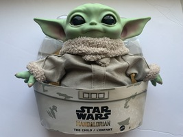 """Star Wars Grogu Plush Toy, 11"""" """"The Child"""" Character from The Mandalorian - $49.99"""