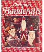 Christmas Handcrafts Book 4 Paper Mache Quilting Tatting Crochet Instruc... - $6.99