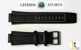 Citizen Conducción Ecológica. Aw1385-11h Piel Auténtica Correa de Reloj ... - $74.81