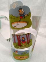 Golfer Martini Pitcher Glass Beaker Style Barware - Ashby Golf Cartoon image 7
