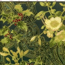 Madeline Hunter/Gold Hoffman Fabrics 100% cotton fabric by the yard - $6.65